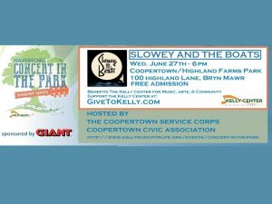 Slowey And The Boats / Haverford Concert In The Pa...