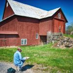 Evening at Kuerners: Plein Air at Kuerners Farm