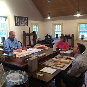 Historic Sugartown's Book Restoration Workshop