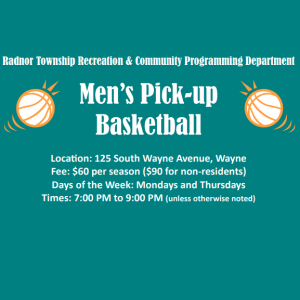Men's Pick Up Basketball