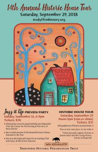 Jazz it Up' the 14th Annual Historic House Tour ...