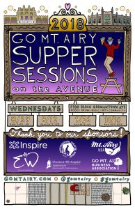Supper Sessions on the Avenue