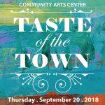 Community Arts Center's Taste of the Town Fundraiser