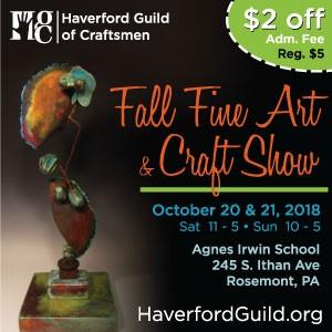 Haverford Guild of Craftsmen Fall 2018 Fine Art an...