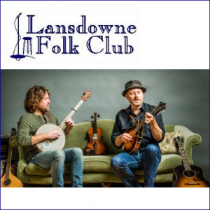 Lansdowne Folk Club presents Moors and McCumber