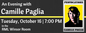 An Evening with Camille Paglia