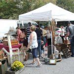 Phila Flea Market at Ardmore- Along Rittenhosue Place at Lancaster Avenue