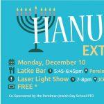 Latke Bar & Laser Light Show - FREE event @ JCC