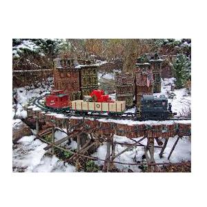 Holiday Garden Railway at Morris Arboretum