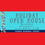 Radnor Library Holiday Open House