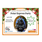 Polar Express Party and Movie