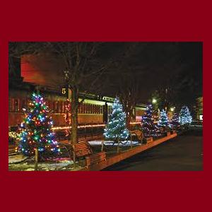 Christmas at the Strasburg Railroad
