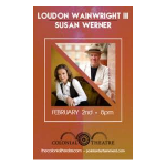 Point Entertainment presents Loudon Wainwright III and Susan Werner