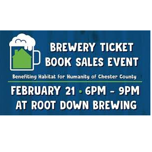 Building A Thirst Brewery Ticket Book Fundraiser