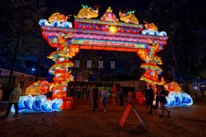 2019 Philadelphia Chinese Lantern Festival in Franklin Square