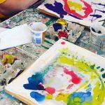 Creative Escape: Dyed Silk Pillowcases