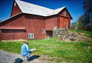 Kuerner Farm Plein Air Day