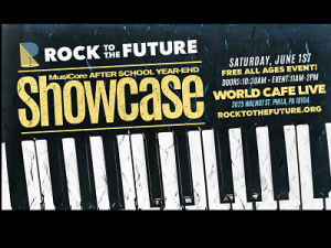 ROCK TO THE FUTURE MUSICORE AFTER SCHOOL YEAR END SHOWCASE