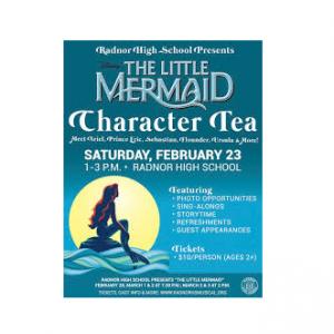 The Little Mermaid Character Tea