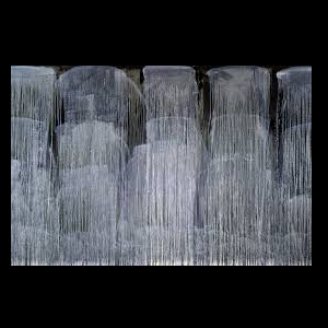 Pat Steir Silent Secret Waterfalls: The Barnes Series