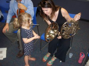 FREE Instrument Petting Zoo Program