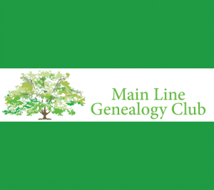 """Main Line Genealogy Club presents """"Genealogy Methods - The Ganges Families History Project"""""""