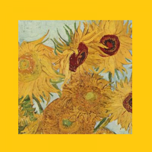 Paint & Pin(o)t: Van Gogh Sunflowers
