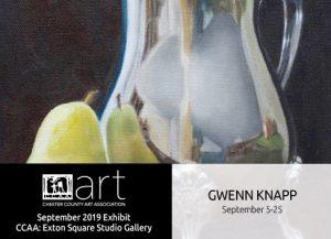 Gwenn Knapp Exhibit at CCAA Exton