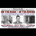 Amy Fairchild, Jesse Terry, and Michael Logen in Concert
