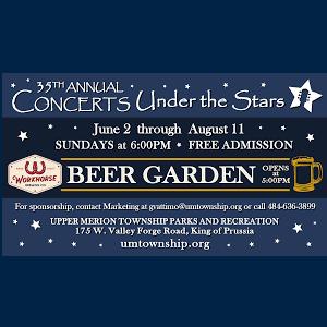 Upper Merion Concert Under The Stars