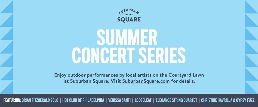 Suburban Square Summer Concert Series