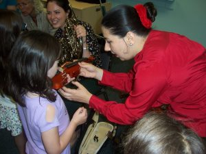 The Delaware County Symphony Visits The Aston Library With A FREE Instrument Petting Zoo!!!