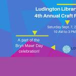 Ludington Library's Annual Craft Fair