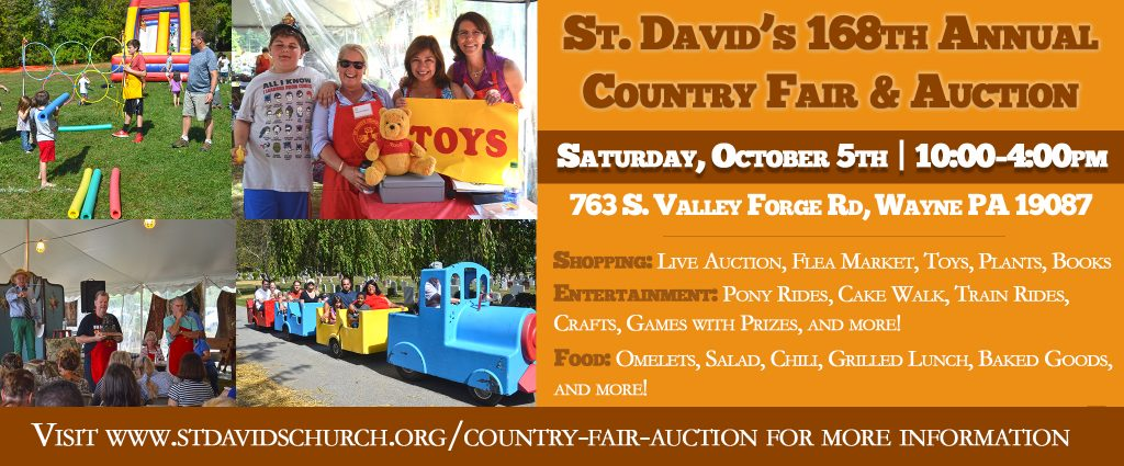 168th St. David's Country Fair & Live Auction
