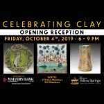 Celebrating Clay Opening Reception