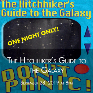 Hitchhiker's Guide to the Galaxy: One Night Only...