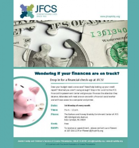 JFCS - Wondering if your finances are on track?