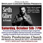Grammy-nominated singer-songwriter Seth Glier and friends