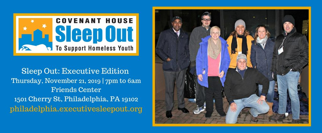 Sleep Out: Executive Edition in Philadelphia - 201...