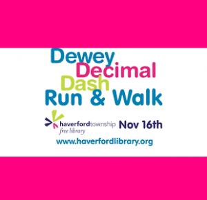 Dewey Decimal Dash 5K and Fun Run
