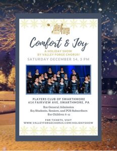 'Comfort & Joy' A Holiday Show By Valley Forge...