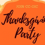 Thanksgiving Party Hosted by CCOIC