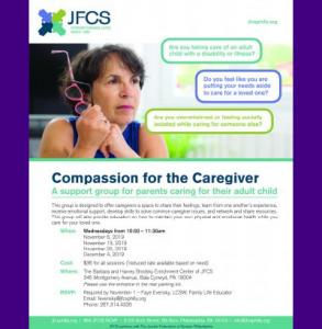 JFCS - Compassion for the Caregiver