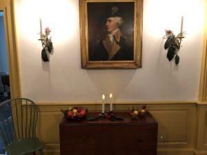 Holiday Candlelight Tours at Historic Waynesborough