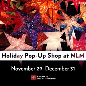 Holiday Pop-Up Shop at National Liberty Museum