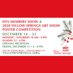 HYS Members Show & 2020 Yellow Springs Art Show Poster Competition