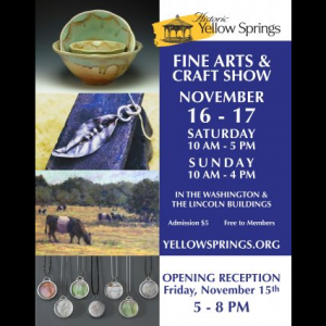 2019 Historic Yellow Springs Fine Arts and Craft Show