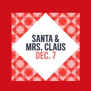 Santa and Mrs. Claus Arrive at Suburban Square