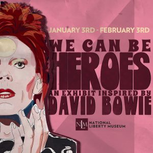 We Can Be Heroes Exhibition