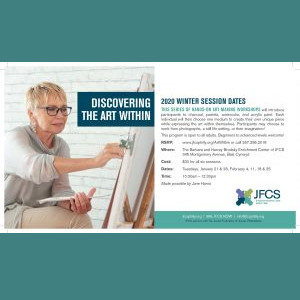JFCS - Discovering the Art Within (2020 Winter Sessions)